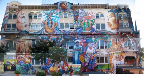 Mural arts creative occupations for City of philadelphia mural arts program